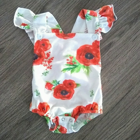 Anan Baby Other - Baby Girl Romper New Without Tags